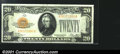 Small Size:Gold Certificates, Fr. 2402 $20 1928 Gold Certificate. Choice Crisp Uncirculated...
