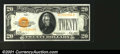 Small Size:Gold Certificates, Fr. 2404 $20 1928 Gold Certificate. Choice Crisp Uncirculated...
