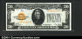 Small Size:Gold Certificates, Fr. 2402 $20 1928 Gold Certificate. Choice About Uncirculated...
