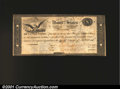 Large Size:Demand Notes, Act of February 15, 1815 $10 Treasury Note Fine-Very Fine. ...