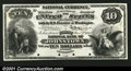 Large Size:Demand Notes, $10 First Charter Specimen Gem New. This India paper Proof ...