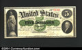 Large Size:Demand Notes, Fr. 2 $5 1861 Demand Note Choice Extremely Fine. One of the...