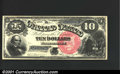 Large Size:Legal Tender Notes, Fr. 105 $10 1880 Legal Tender Superb Gem New. This is a rea...