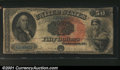 Large Size:Legal Tender Notes, Fr. 159 $50 1880 Legal Tender Very Good. About a dozen and ...