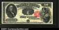 Large Size:Legal Tender Notes, Fr. 163 $50 1880 Legal Tender Gem New. A hitherto unknown e...