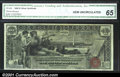 Large Size:Silver Certificates, Fr. 224 $1 1896 Silver Certificate CGA Gem Uncirculated 65....