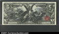 Large Size:Silver Certificates, Fr. 269 $5 1896 Silver Certificate CGA Gem Uncirculated 65....