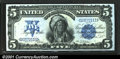 """Large Size:Silver Certificates, Fr. 271 $5 1899 Silver Certificate Superb Gem New. The """"c"""" ..."""