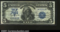 Large Size:Silver Certificates, Fr. 277 $5 1899 Star Note Silver Certificate Choice Very Fine...