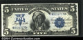 Large Size:Silver Certificates, Fr. 279 $5 1899 Silver Certificate Gem New. Flashy, bright ...