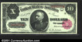 Large Size:Treasury Notes, Fr. 368 $10 1890 Treasury Note Superb Gem New. Another magn...