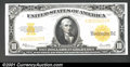 Large Size:Gold Certificates, Fr. 1173 $10 1922 Gold Certificate Very Choice New. This Te...
