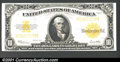 Large Size:Gold Certificates, Fr. 1173 $10 1922 Gold Certificate Very Choice New. The col...