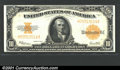 Large Size:Gold Certificates, Fr. 1173 $10 1922 Gold Certificate Choice Extremely Fine. A...