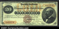 Large Size:Gold Certificates, Fr. 1175a $20 1882 Triple Signature Gold Certificate Choice V...