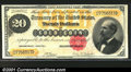 Large Size:Gold Certificates, Fr. 1178 $20 1882 Gold Certificate Choice Extra Fine. Extra...