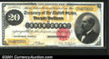 Large Size:Gold Certificates, Fr. 1178 $20 1882 gold Certificate Extra Fine. A really ni...