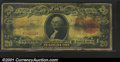 Large Size:Gold Certificates, Fr. 1179 $20 1905 Gold Certificate Very Good, Stained. A fe...
