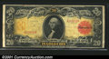 Large Size:Gold Certificates, Fr. 1180 $20 1905 Gold Certificate Fine. This Technicolor T...