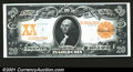 Large Size:Gold Certificates, Fr. 1183 $20 1906 Gold Certificate Extra Fine-About New. A ...