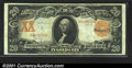 Large Size:Gold Certificates, Fr. 1185 $20 1906 Gold Certificate Extremely Fine. Well mar...