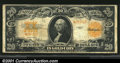 Large Size:Gold Certificates, Fr. 1187 $20 1922 Star Note Gold Certificate Fine. This is ...