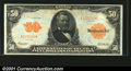 Large Size:Gold Certificates, Fr. 1199 $50 1913 Gold Certificate Gem New. A beauty, with ...