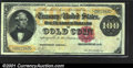 Large Size:Gold Certificates, Fr. 1209 $100 1882 Gold Certificate Extremely Fine. Only ab...