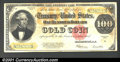 Large Size:Gold Certificates, Fr. 1215 $100 1922 Gold Certificate About Very Fine. There ...