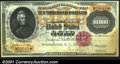 Large Size:Gold Certificates, Fr. 1225 $10,000 1900 Gold Certificate New. Fully uncircula...