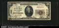 National Bank Notes:Colorado, Gunnison, CO - $20 1929 Ty. 1 The First NB Ch. # 2686...