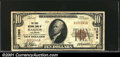National Bank Notes:Colorado, Haxtun, CO - $10 1929 Ty. 1 The First NB Ch. # 11099A...