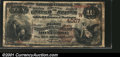 National Bank Notes:Colorado, Montrose, CO- $10 1882 Brown Back Fr. 483 The First NB ...