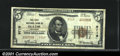 National Bank Notes:Colorado, Olathe, CO - $5 1929 Ty. 2 The First NB Ch. # 9719A v...