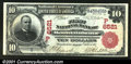 Mountainhome, ID - $10 1902 Red Seal Fr. 613 The First NB Ch. # (P)6521 A wonderful serial number 1 Red Seal that is th...