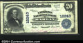 National Bank Notes:Kentucky, Harlan, KY - $20 1902 Fr. 661 The Citizens NB Ch. # 122...