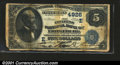 National Bank Notes:Maryland, Frostburg, MD - $5 1882 Date Back Fr. 533a The Citizens N...