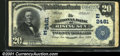 National Bank Notes:Maryland, Rising Sun, MD - $20 1902 Plain Back Fr. 659 The NB of Ri...