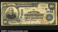 National Bank Notes:Missouri, Hannibal, MO - $10 1902 Plain Back Fr. 624 The Hannibal N...