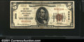 National Bank Notes:Missouri, Nevada, MO - $5 1929 Ty. 1 First NB Ch. # 3959A probl...