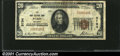 National Bank Notes:Missouri, Paris, MO - $20 1929 Ty. 1 Paris NB Ch. #5794Crisp, w...