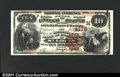 National Bank Notes:Missouri, St. Louis, MO - $10 1882 Brown Back Fr. 484 The NB of Com...