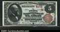National Bank Notes:Missouri, St. Louis, MO - $5 1882 Brown Back Fr. 477 The State NB...