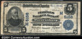 National Bank Notes:Missouri, Warrensburgh, MO - $5 1902 Plain Back Fr. 606 The Peoples...