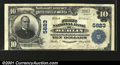 National Bank Notes:Pennsylvania, Berlin, PA - $10 1902 Plain Back Fr. 633 The First NB C...