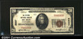 National Bank Notes:Pennsylvania, Big Run, PA - $20 1929 Ty. 1 The Citizens NB Ch. # 5667...