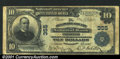 National Bank Notes:Pennsylvania, Chester, PA - $10 1902 Plain Back Delaware County NB Ch...