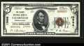 National Bank Notes:Pennsylvania, Clearfield, PA - $5 1929 Ty. 2 The County NB Ch. # 1399...