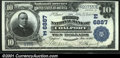 National Bank Notes:Pennsylvania, Coalport, PA - $10 1902 Plain Back Fr. 624 The First NB...