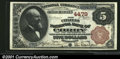 National Bank Notes:Pennsylvania, Corry, PA - $5 1882 Brown Back Fr. 471 The Citizens NB ...